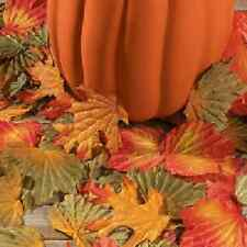 Polyester Decorative Fall Leaves 1000 Pc / BULK (3/528)
