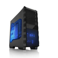 Raidmax Altas ATX Mid Tower Computer gaming Case Custom build leet game gear New
