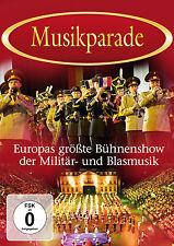 DVD Musikparade Militärmusik und Blasmusik Live Europas erfolgreichste Show