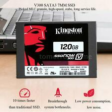 "Kingston 120GB 2.5"" SATA 3 High Speed SSD Solid State Drive Flash Memory FW8M"