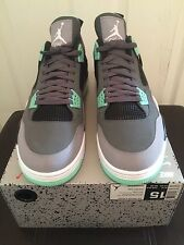Nike Air Jordan 4 IV Retro Green Glow Mint 308497 033 Sz 15