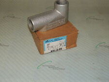 "COOPER CROUSE HINDS LB47 1 1/4"" OUTLET BOX / LOT OF 2"