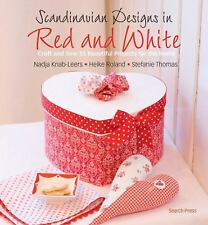 Scandinavian Designs in Red and White, NEW Book