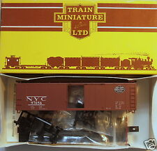 HO Walthers/Train Miniature New York Central (NYC) 40' X-29 Steel Box Car Kit
