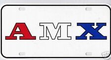 1970 1971 Javelin AMX License Plate