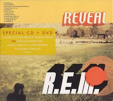 R.E.M. - REVEAL ; Rare Limited CD + DVD Edition ; New. unique I'll Take The Rain