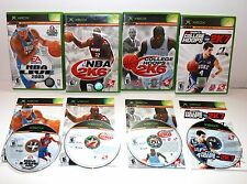 XBOX 2K SPORTS MBA & MBA LIVE /COLLAGE HOOPS 2K6 & 2K7 GAMES