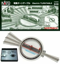 NEW KATO Japan Train Track RailWay N gauge 20-283 Electric Turntable System Set