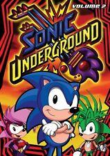 Sonic Underground - Volume 2 (DVD, 2008, 4-Disc Set)