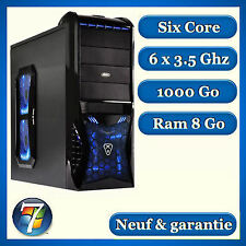 PC Gamer SIX CORE - 8 GO - HDD 1000 Go  - Windows 7