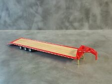 1/64 Custom scratch red 45 ft gooseneck trailer