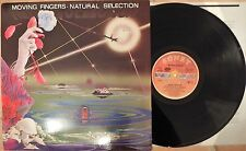 Moving Fingers ‎– Natural Selection RARE GER 1986 Electronic/ Pop
