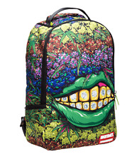 Sprayground High Times Ganja Grillz Cannabis Weed 420 Pot Laptop Bag Backpack