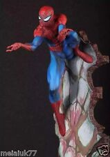 "CRAZY TOYS MARVEL THE AMAZING SPIDER-MAN 2 BLUE SPIDERMAN FIGURE 18"" PVC STATUE"