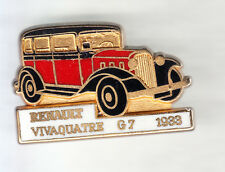 RARE PINS PIN'S .. AUTO CAR ANCIENNE OLD TACOT RENAULT VIVAQUATRE TAXI G7 33 ~CO