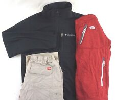 The North Face Lot of 3 Men's Red/Black Jackets/Hiking Pants Medium M [AI12385]