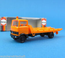 Herpa H0 814500 Mercedes-Benz LP 813 Autotransporter-LKW Orange OVP HO 1:87 Box