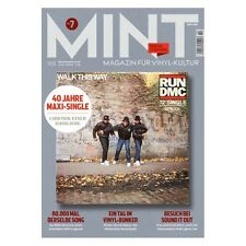 MINT Magazin für Vinyl-Kultur Nr.7 (10/16) Run DMC - Walk This Way Cover NEU!