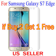 Full Cover Curved Clear Screen Protector Guard Film For Samsung Galaxy S7 Edge