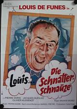 Louis die Schnatterschnauze Filmposter A1 Louis de Funes Dans l'eau... qui fait