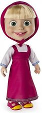 Masha And The Bear 12 Inch Interactive Doll - Giggle And Play Girls Toy NEW