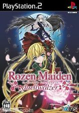 Used PS2 Rozen Maiden: Duel Valzer Taito  SONY PLAYSTATION JAPAN IMPORT