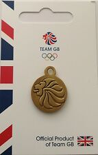 OFFICIAL TEAM GB REPLICA LIONS HEAD TRACK SUIT ZIP PULL / KEYRING FOB