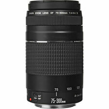 NEW Retail Canon EF 75-300mm f/4-5.6 III Lens for EOS Rebel Cameras - Free Ship