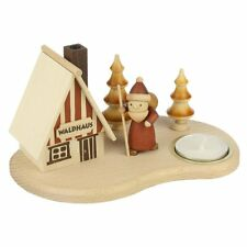 Wooden In The Forest Log Cabin Incense Burner Smoker Made In Germany