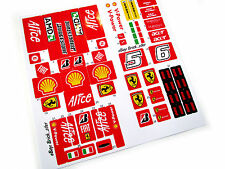 CUSTOM STICKERS for LEGO 8157 Ferrari F1 , MODELS, TOYS, ETC, VERY NICE!