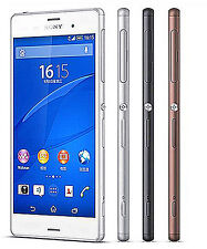 "Original Sony Xperia Z3 D6603 16GB White (Unlocked) Smartphone,20.7MP,5.2"" GSM"