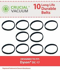 10 Dyson DC17 Geared Belts Fits DC17 Vacuums 10MM 911710-01 91171001