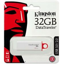 Kingston 32GB DataTraveler G4 32G USB 3.0 Pen Drive DTIG4/32GB Retail
