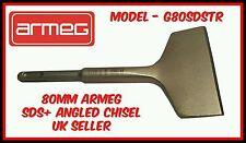 Nouveau ARMEG 80mm sds + plus incliné ciseau plâtre carrelage électrique rendre remover r