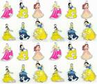 Wholesale Lot Mix Disney Princess Jewelry Making Pendants Charms + Coins Bag