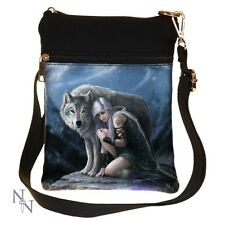 ANNE STOKES PROTECTOR WOLF LADY SHOULDER BAG LADIES BAG NEW NEMESIS NOW BAG