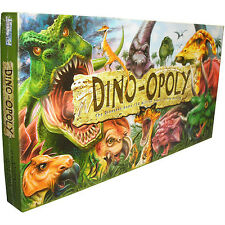 Dino-opoly, Dinosaur Monopoly, Board Game, NEW