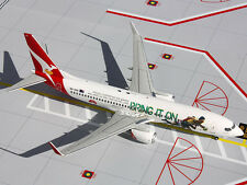 Gemini200 G2QFA439 Qantas Boeing 737-800 Bring It On REG#VH-VXG 1:200 Scale Mt