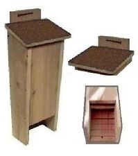Ark Workshop Shingled Bat House cedar shelter box A+ mosquito bug control AB