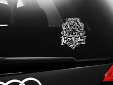 Harry Potter - Gryffindor Car Bumper Window Sticker