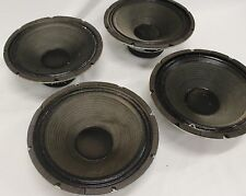 "Lot of 4 Peavey Sheffield Model 1290 12"" Inch Guitar Cabinet Speakers"