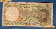 Afrique Centrale - 1000 Francs type 1991 -1993 Sign 15 C Congo Numéro 9358284730