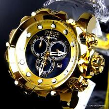 Invicta Reserve Venom Sea Dragon Gen II Black High Polish Gold Plated Watch New