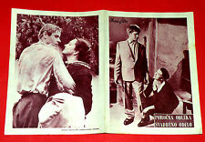 NEARLY NEW CLOTHING 1964 POLISH BIELINSKI BOROWIEC CELOWNA EXYU MOVIE PROGRAM