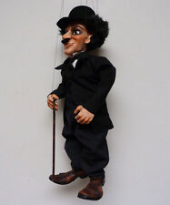CHARLES CHAPLIN-original marionette,20 inches tall, handmade from CZECH REPUBLIC