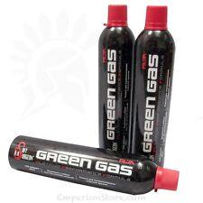 Airsoft Surgeon Green Gas 600ml 3 x bottles GBB Gas Airsoft Softair
