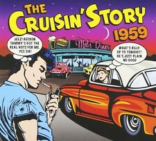 THE CRUISIN STORY 1959 2 CD (SAM COOKE, BUDDY HOLLY, CHUCK BERRY, ...) NEU