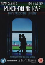 Punch Drunk Love DVD Adam Sandler, Emily Watson Brand New and Sealed