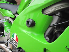 KAWASAKI ZX9R ZX9 R 1998 - 2003  CRASH MUSHROOMS SLIDERS BUNGS BOBBINS   R9D4