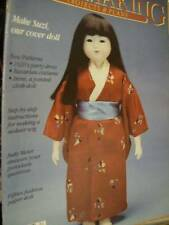 Dollmaking Magazine Winter 1988 Japanese Suzi Doll, Audrey Paper Doll & Clot